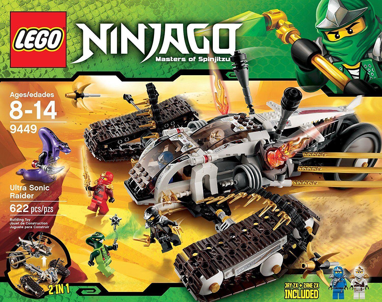 LEGO ® Ninjago 9449 Ultra Sonic Raider BRAND NEW    OVP  NUOVO SIGILLATO