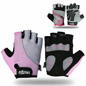 Ladies-Gel-Gloves-Fitness-Gym-Wear-Weight-Lifting-Workout-Training-Cycling-N