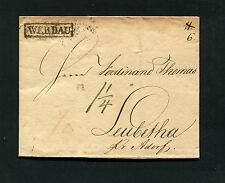 """Sachsen - """"Werdau"""" seltener Ra von 1829  (#1002)"""