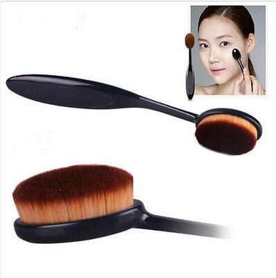 New Foundation Cosmetic Face Makeup Powder Blusher Brush Toothbrush Curve Brush