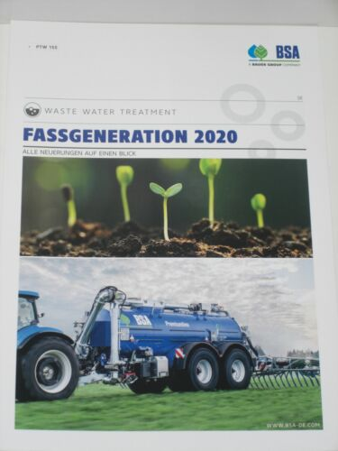 BSA Gülletankwagen Fassgeneration 2020 Prospekt 82