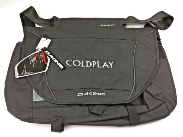 Dakine Coldplay Street Series Messenger Bag Large W Shoulder Strap Black