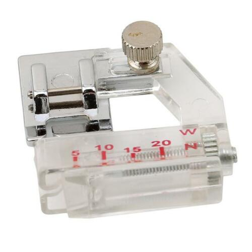 Adjustable Bias Binder Presser Foot Binding Feet Sewing Machine For Low Shank N7