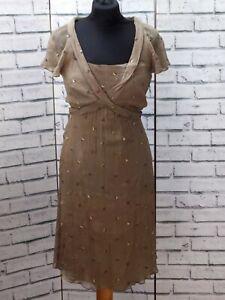 Pphilosophy-di-Alberta-Ferretti-soie-paisley-robe-taille-10