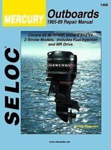 seloc marine repair manual 1408 mercury inline 6 v6 2 stroke rh ebay com Honda Motorcycle Manuals Seloc Seloc Marine Online