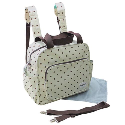 2 tlg Rucksack Wickeltasche Pflegetasche Windeltasche Babytasche Farbauswahl