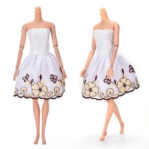 Fashion-Beautiful-Handmade-Party-Clothes-Dress-for-9-034-Doll-Mini-102-L-Nj