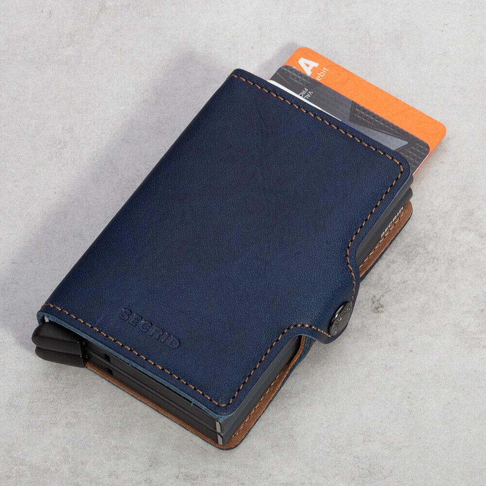 NEW Secrid Indigo 5 Titanium Twin Wallet