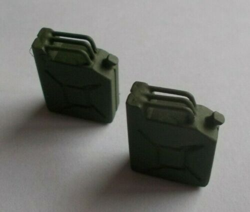 Model Boat Fittings. Pair of Jerry cans in 1//24th Scale