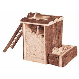 Trixie-Natural-Living-Play-and-Burrow-Tower-Toy-for-Mice-amp-Dwarf-Hamsters-Wood
