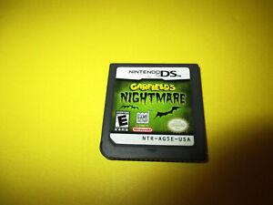 Garfield S Nightmare Nintendo Ds Lite Dsi Xl 3ds 2ds Game Ebay