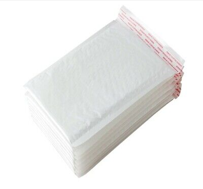 """White 20 Poly Bubble Mailers 8x10 Self Seal Padded Shipping Bag Envelope 8/""""x10/"""""""