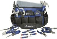 Kobalt 22-piece Knife Hammer Pliers Wrench Household Tool Set With Soft Case