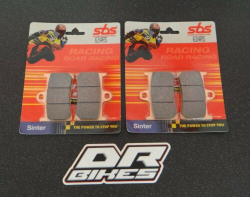 Yamaha R6 13S 2008-2013 SBS Race Sintered Front Brake Pads 634RS