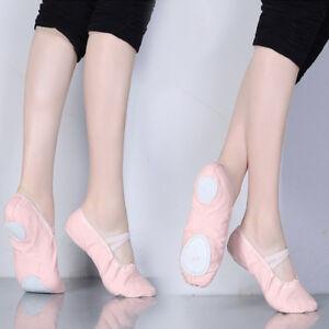 Ballet-Shoes-Dance-Shoes-Split-Sole-Slipper-Women-039-s-Ballet-Slippers-Ballet-Shoes