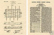 FOOSBALL TABLE US PATENT Art Print READY TO FRAME!! 1942 soccer kicker tornado
