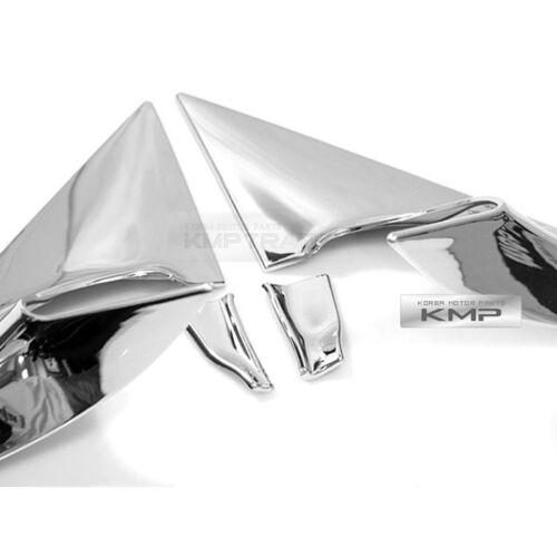 Chrome Side Mirror Bracket Garnish Molding Trim for HYUNDAI 2011-2017 Veloster
