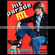RADIO RTL 'Hit parade avec ANDRE TORRENT' 1975 - Pub / Publicité / Ad #A382