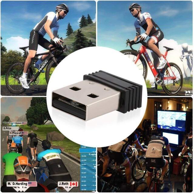 USB ANT Dongle Stick Virtual Cycling Smart Trainers Zwift Trainerroad Garmin