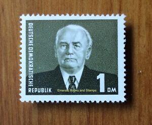 EBS East Germany DDR 1953 Wilhelm Pieck 1 Mark Michel 342 MNH** cv $24
