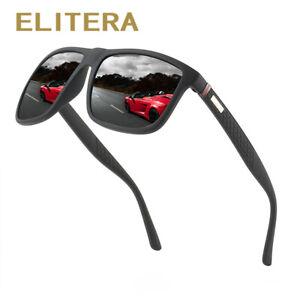 ELITERA-Square-Polarized-Sunglasses-For-Men-TR90-Frame-Driving-Sun-Glasses-Male