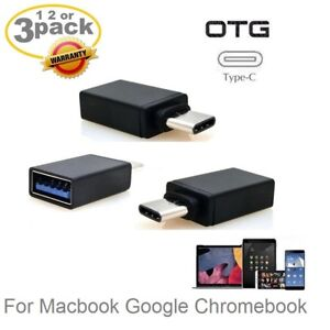 1,2 3 OTG Adapter Type-C to USB 3.0 Adapter for MacBook-Pro Google Pixel Nexus
