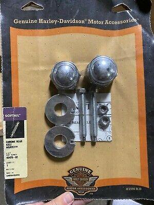 Chrome Rear Axle Adjuster Kit fits Harley-Davidson