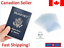 Clear-Transparent-Travel-Business-Passport-Cover-Holder-Card-Protector thumbnail 1