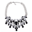 Ladies-Fashion-Crystal-Pendant-Choker-Chain-Statement-Chain-Bib-Necklace-Jewelry thumbnail 69