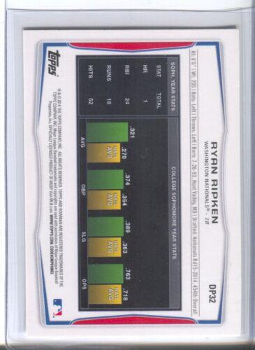 Ryan Ripken Pop-Up List 2014 Bowman Cards Qty Disc 30/%-45/%