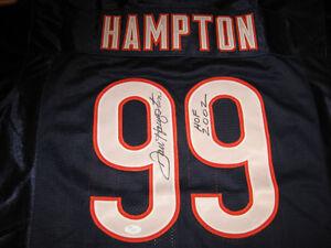 Chicago-Bears-Dan-Hampton-signed-Jersey-JSA-witness-w-HOFinscription