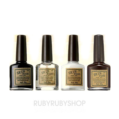 SKINFOOD Nail Vita Black and White Line - 13ml