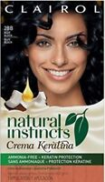 Clairol Natural Instincts Crema Keratina Blueberry Creme Blue Black Hair Dye