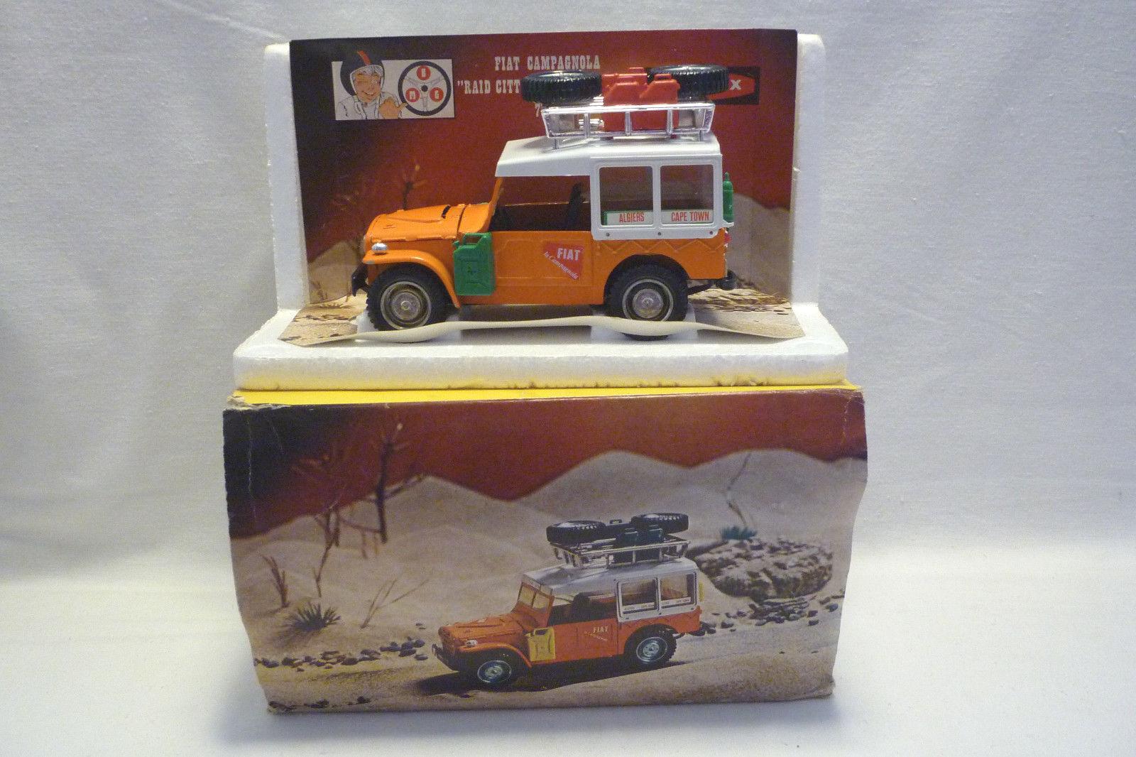 Barlux - Modèle - Série Zoom - Fiat Campagnola - 1 25 - Emballage D'Origine -