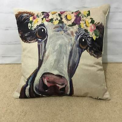 DIYCow Throw Pillows Covers Popcorn