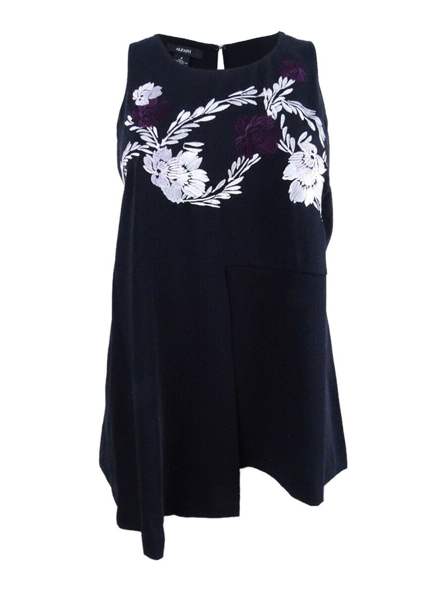 Alfani Woherren Plus Größe Embroiderot Swing Top