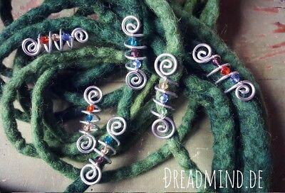 *dreadmind* Dreadlocks Dreadschmuck Dreadperlen Dreadlockschmuck Dreadspirale GüNstigster Preis Von Unserer Website
