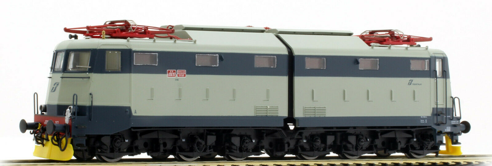 ACME 69458 E636 117 Livrea storica Blau grau vomere Gelb Trenitalia SOUND