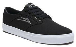 Lakai-Shoes-Porter-Black-Canvas-USA-SIZE-Skateboard-Sneakers