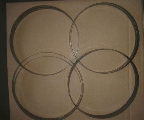 """10 x 1638mm or 5ft 4 1//2/"""" 64 1//2/"""" x 1//2/"""" x 6//10 vari tpi m2 Bandsaw Blades"""