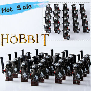 21PCS/Lot The Hobbit series Minifigures Lord of the Rings Heavy Armor#3