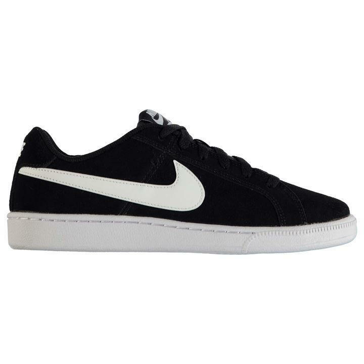 Nike Hommes Court Royale Suede Trainers, Nike Suede Court Chaussures - Noir