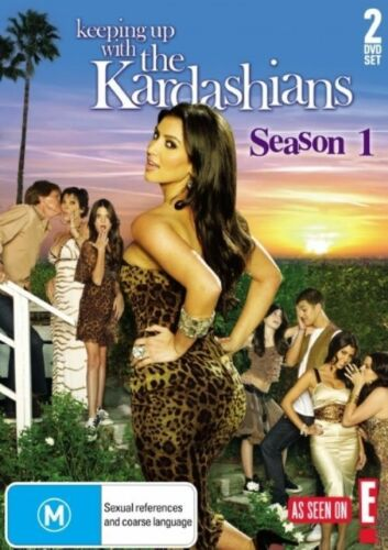 1 of 1 - B4 BRAND NEW SEALED Keeping Up With The Kardashians : Season 1 (DVD, 2008)