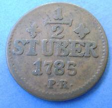 Deutsches Reich Jülich-Berg 1/2 stuber 1785 PR.