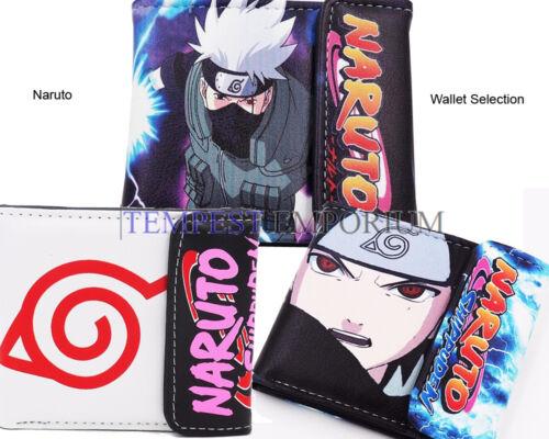 Naruto Wallet Accessory Selection New /& Sealed Hatake Kiba Sasuke Anime