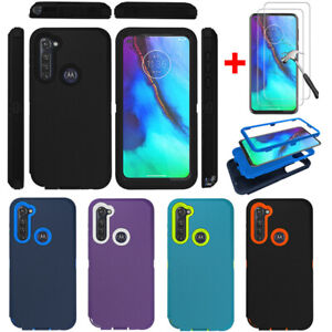 For-Motorola-Moto-G-Stylus-G-Power-2020-Shockproof-Case-Cover-Tempered-Glass