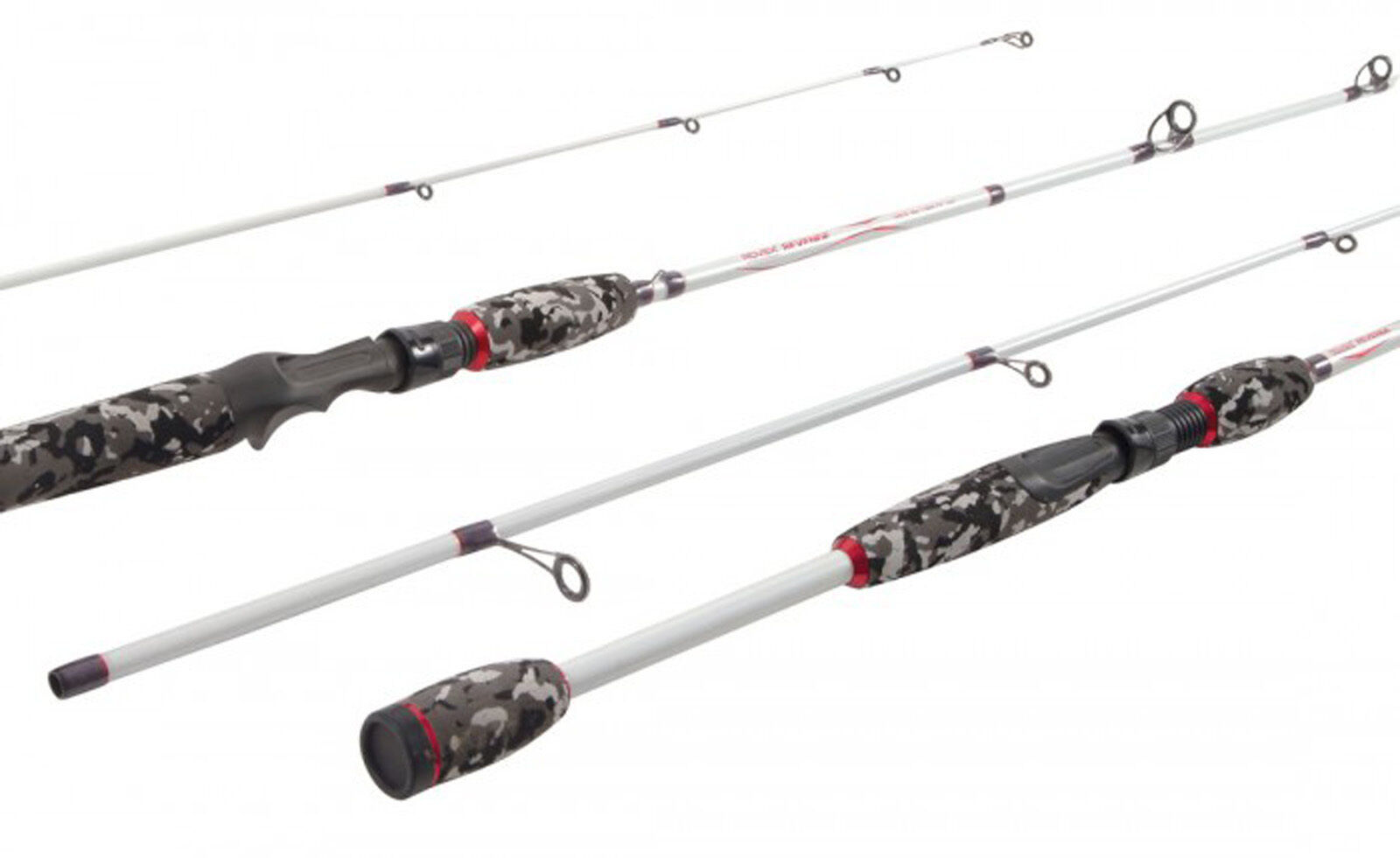 Rovex Revenge Spin 2 Piece Fishing Rods - - Rods 6ft 6