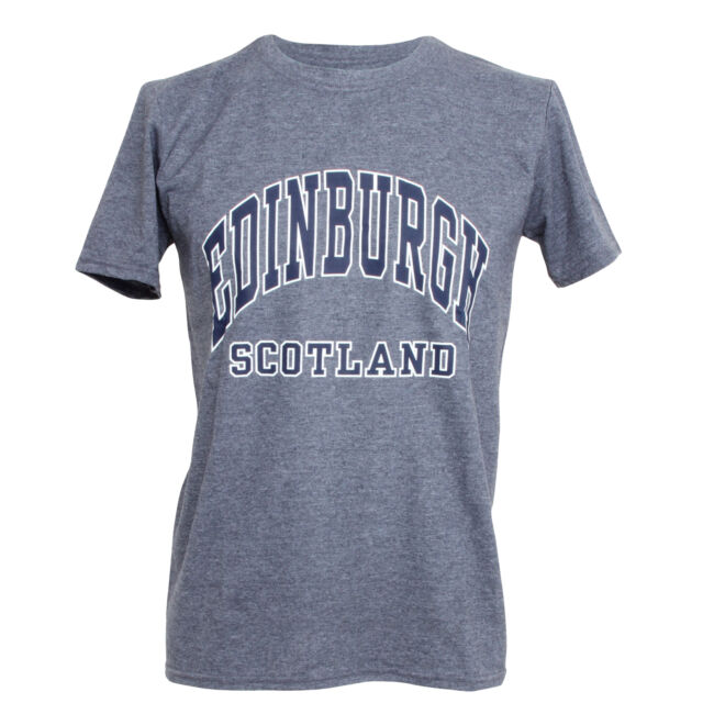 Mens Edinburgh Scotland Print Short Sleeve T-Shirt//Top SHIRT139