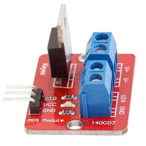 IRF520 MOS FET MOSFET Driver Modulo Per Arduino Raspberry Pi Nuovo