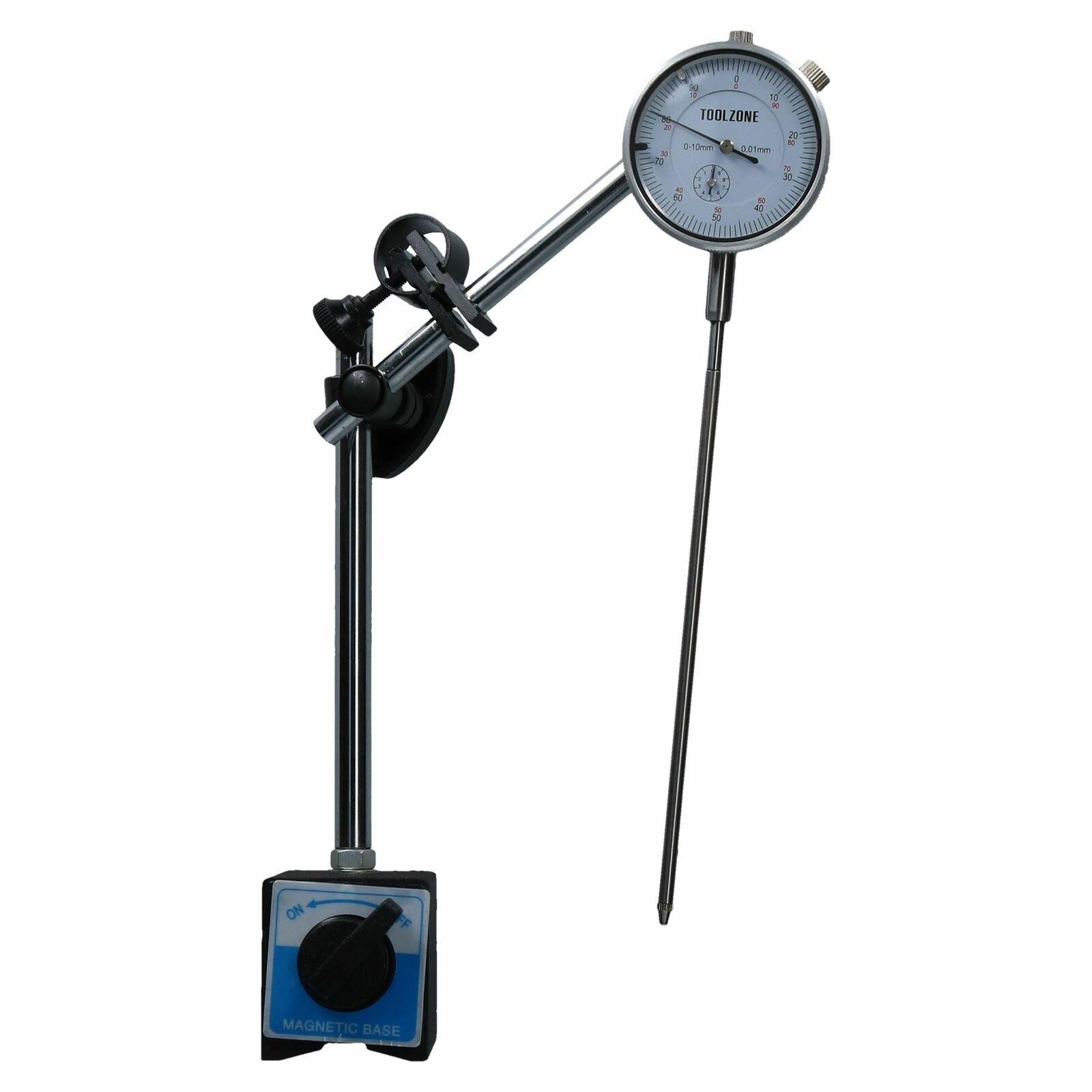 L'indicateur de cadran jauge DTI & Stand Base Magnétique jauge Très longue